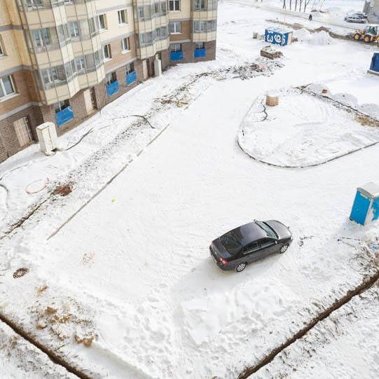 ЖК Босфор, февраль